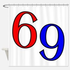 Bold 69 Shower Curtain