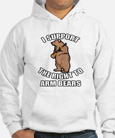 I Support The Right To Arm Bears Hoodie