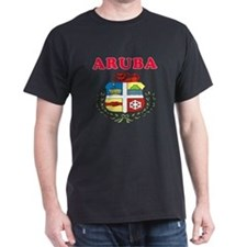 Aruba Coat Of Arms Designs T-Shirt