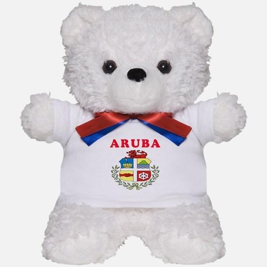 Aruba Coat Of Arms Designs Teddy Bear