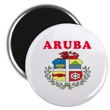 Aruba Coat Of Arms Designs Magnet