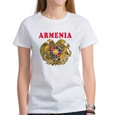 Armenia Coat Of Arms Designs Tee