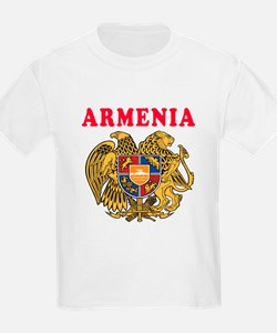 Armenia Coat Of Arms Designs T-Shirt