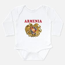 Armenia Coat Of Arms Designs Long Sleeve Infant Bo