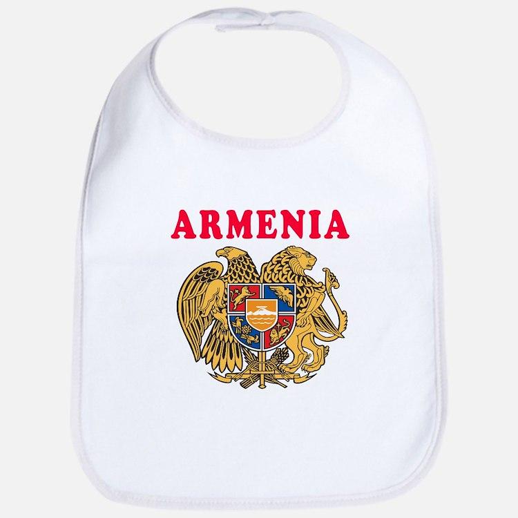 Armenia Coat Of Arms Designs Bib