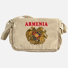 Armenia Coat Of Arms Designs Messenger Bag