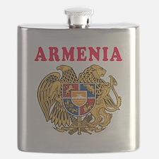 Armenia Coat Of Arms Designs Flask