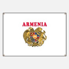 Armenia Coat Of Arms Designs Banner
