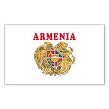 Armenia Coat Of Arms Designs Decal