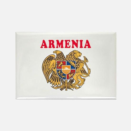 Armenia Coat Of Arms Designs Rectangle Magnet