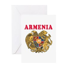 Armenia Coat Of Arms Designs Greeting Card