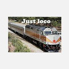Just loco: railway locomotive, Grand Canyon Rectan