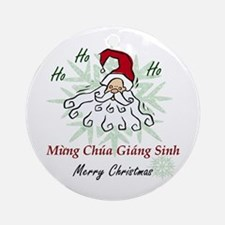 Merry Christmas (Vietnamese) Ornament