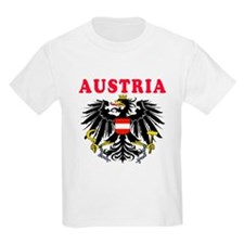 Austria Coat Of Arms Designs T-Shirt