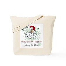 Merry Christmas (Vietnamese) Tote Bag