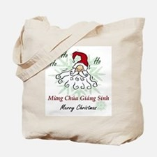 Merry Christmas (Vietnamese) Tote Bag