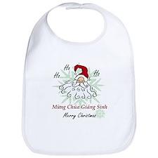 Merry Christmas (Vietnamese) Bib