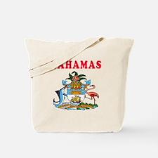 Bahamas Coat Of Arms Designs Tote Bag