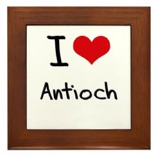 I Heart ANTIOCH Framed Tile