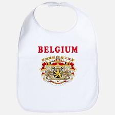 Belgium Coat Of Arms Designs Bib