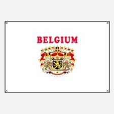 Belgium Coat Of Arms Designs Banner