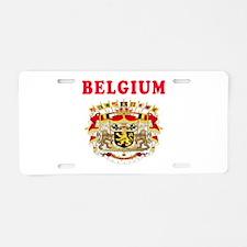 Belgium Coat Of Arms Designs Aluminum License Plat