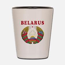Belarus Coat Of Arms Designs Shot Glass