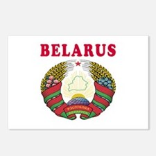 Belarus Coat Of Arms Designs Postcards (Package of