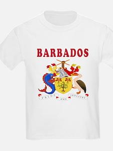 Barbados Coat Of Arms Designs T-Shirt