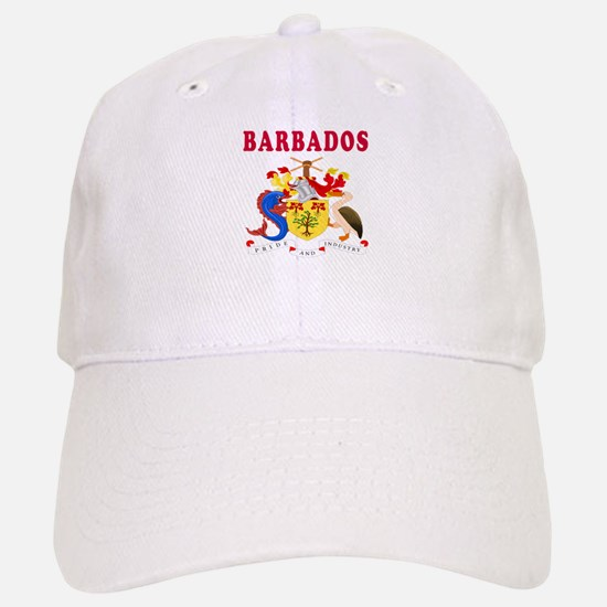 Barbados Coat Of Arms Designs Baseball Baseball Cap
