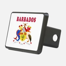 Barbados Coat Of Arms Designs Hitch Cover