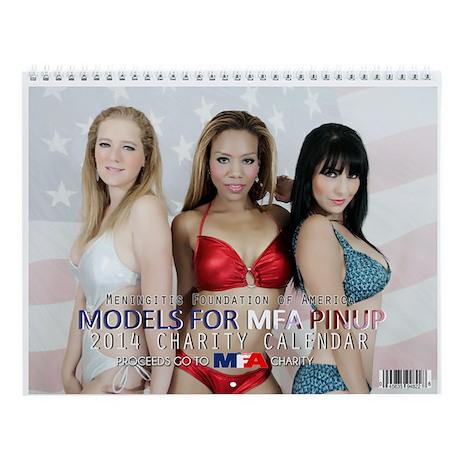 Models For MFA Pinup Calendar 2014