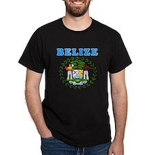 Belize Coat Of Arms Designs T-Shirt