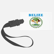 Belize Coat Of Arms Designs Luggage Tag