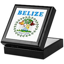 Belize Coat Of Arms Designs Keepsake Box