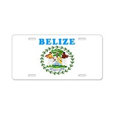 Belize Coat Of Arms Designs Aluminum License Plate