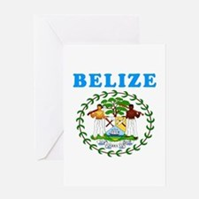 Belize Coat Of Arms Designs Greeting Card