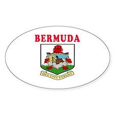 Bermuda Coat Of Arms Designs Decal