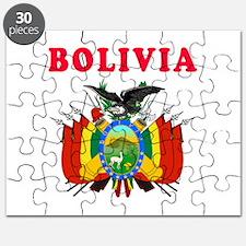 Bolivia Coat Of Arms Designs Puzzle