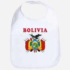 Bolivia Coat Of Arms Designs Bib