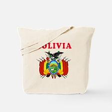 Bolivia Coat Of Arms Designs Tote Bag