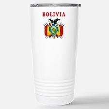 Bolivia Coat Of Arms Designs Travel Mug