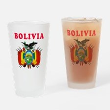 Bolivia Coat Of Arms Designs Drinking Glass