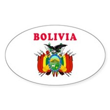 Bolivia Coat Of Arms Designs Decal