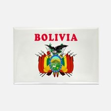 Bolivia Coat Of Arms Designs Rectangle Magnet