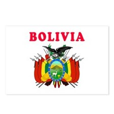 Bolivia Coat Of Arms Designs Postcards (Package of