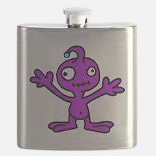 Space Alien Flask
