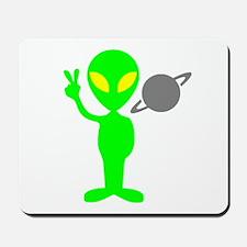 Space Alien Mousepad