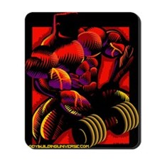GYM MONSTER Curl Mousepad