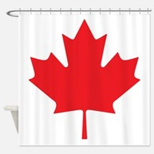 Canadian Maple Leaf Shower Curtain